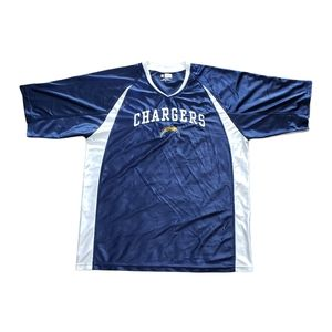 San Diego Chargers Jersey Style Shirt NFL XL